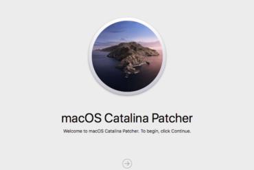 catalina patcher 370x247 - Nouveau macOS sur un vieux Mac