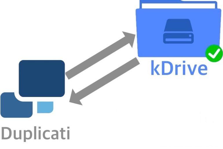duplicati kdrive 1 770x513 - Sauvegarde avec Duplicati et kDrive (Asustor)