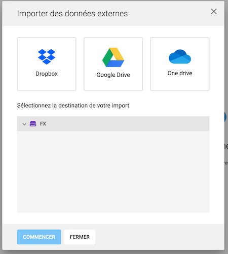 import data - Infomaniak lance son kDrive (à partir de 2 To)
