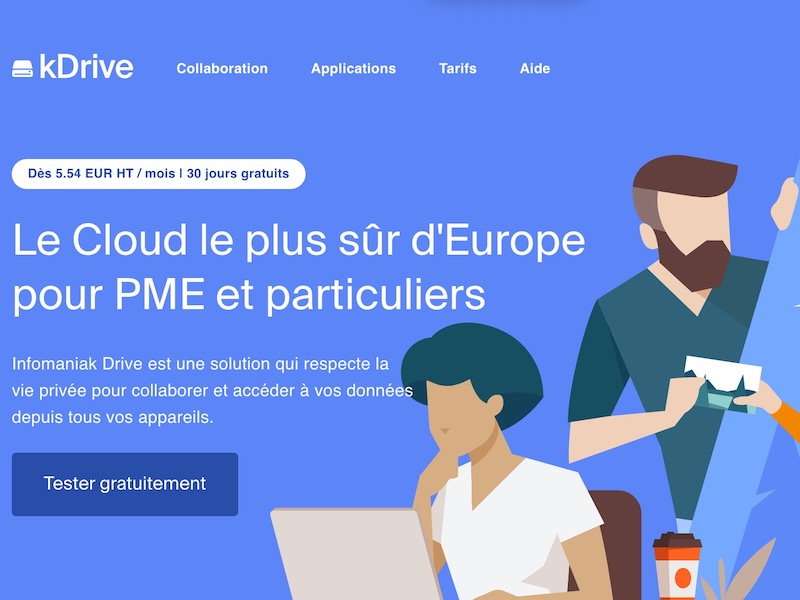 kDrive - Infomaniak lance son kDrive (à partir de 2 To)