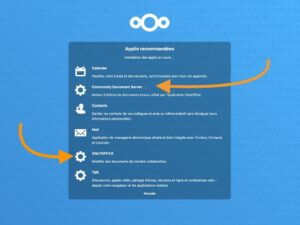 nextcloud community document server 1 300x225 - ONLYOFFICE sur un NAS, Raspberry Pi, Serveur...