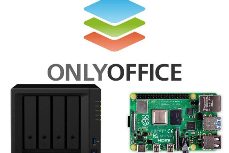 onlyoffice nas pi 770x513 - ONLYOFFICE sur un NAS, Raspberry Pi, Serveur...