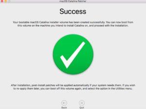 success 300x225 - Nouveau macOS sur un vieux Mac