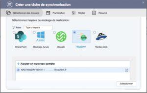 synchro webdav qnap 300x191 - Sauvegarder et synchroniser son NAS QNAP avec kDrive