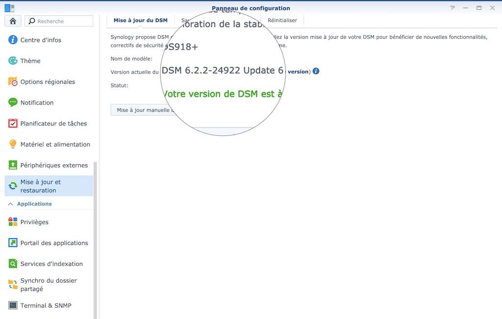 DSM 6.2.2 update 6 - Synology DSM 6.2.2 update 6