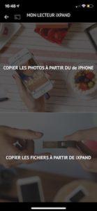 copier photos 139x300 - SanDisk iXpand Drive Go pour iPhone et iPad