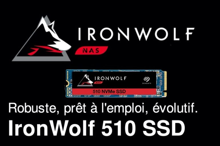 ironwolf 510 SSD 770x513 - Seagate lance un SSD NVMe IronWolf 510 pour les NAS