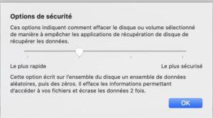 options securite 300x166 - NAS : Préparer un disque dur (tester sa santé)