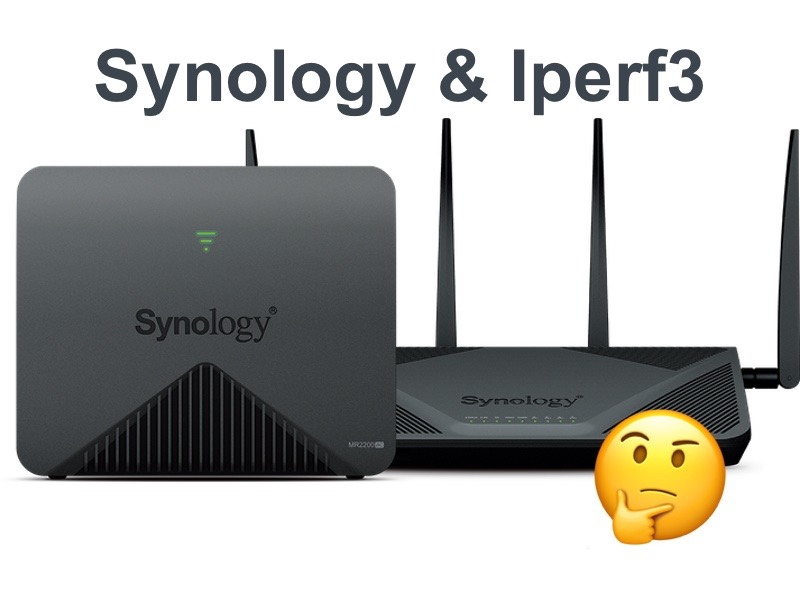 synology iperf - iPerf et routeur Synology