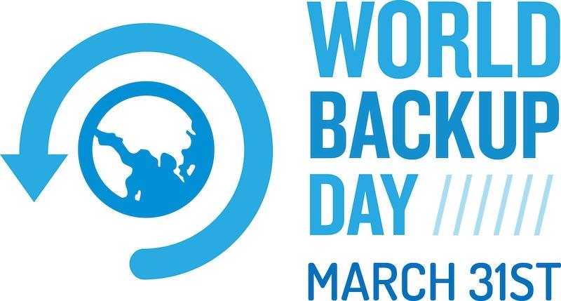 world backup day 2020 - World Backup Day 2020, faites une sauvegarde de vos données