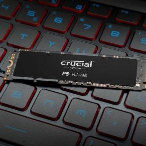 Crucial P5 293x293 - Crucial annonce l'arrivée prochaine du SSD NVMe P5