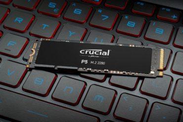 Crucial P5 370x247 - Crucial annonce l'arrivée prochaine du SSD NVMe P5