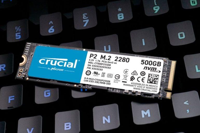 Crucila P2 770x513 - Crucial P2, mieux que le P1 ?