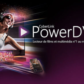 PDVD20 293x293 - PowerDVD 20 : Cloud 100 Go pour le partage, 8K, ISO Blu-ray et Blu-ray UHD...