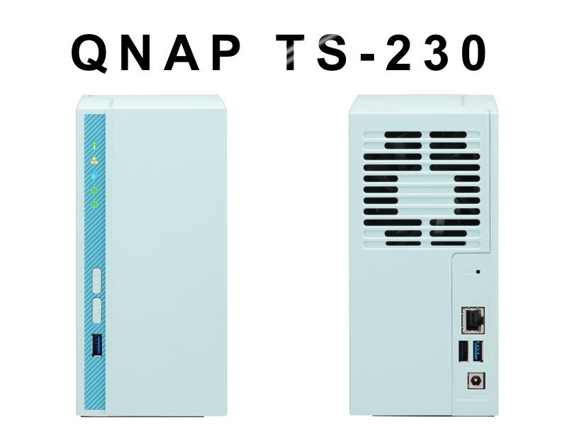QNAP TS 230 - NAS - QNAP annonce le TS-230
