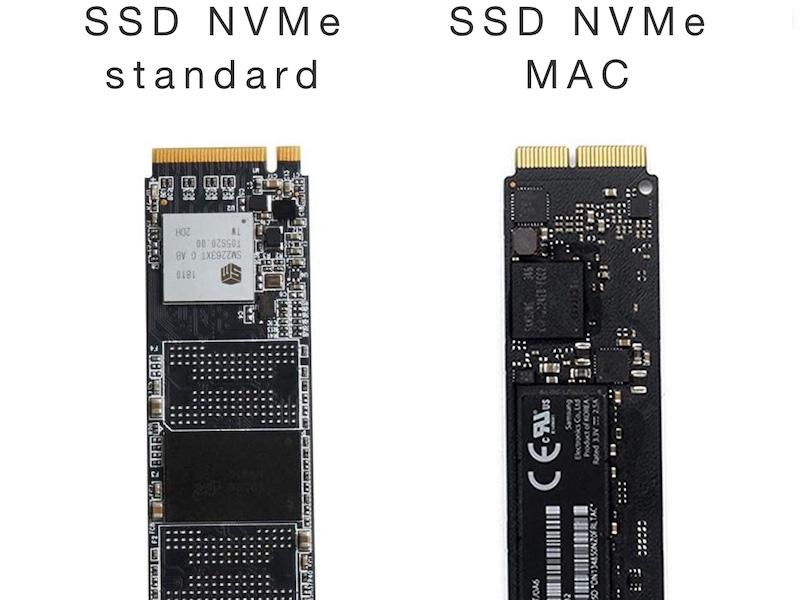 SSD MAC - Remplacer le SSD NVMe d'un MacBook Pro : gain d'espace et performances