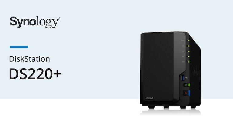 Synology DS220 770x400 - NAS - Synology lance le DS220+ pour 345€
