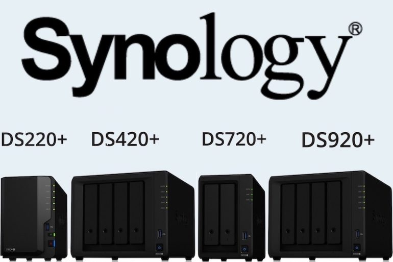 Synology DSx20 770x513 - NAS - Synology DS220+, DS420+, DS720+ et DS920+