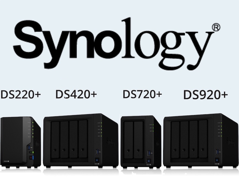 Synology DSx20 - NAS - Synology DS220+, DS420+, DS720+ et DS920+
