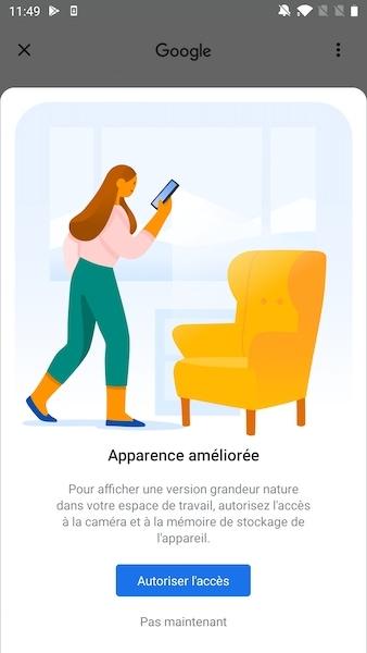 android apparence amelioree - Android / iOS : Retrouvez-vous face à face avec cet animal