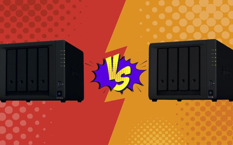 DS418play DS420 770x480 - NAS – Synology DS418play vs DS420+