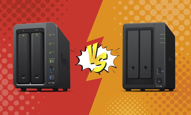 DS718vsDS720 - NAS – Synology DS718+ vs DS720+