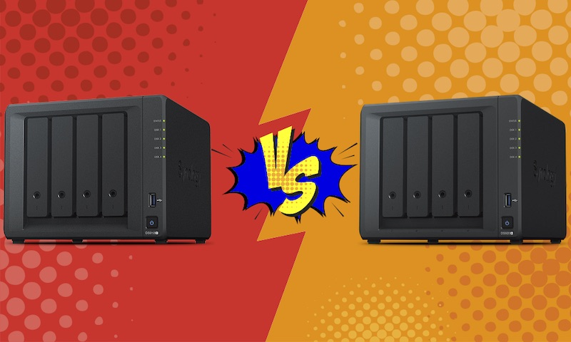 DS918vsDS920 - NAS – Synology DS918+ vs DS920+