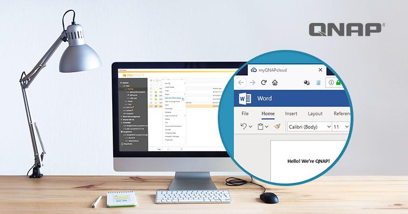 Office QNAP - QNAP met Microsoft Office dans leur NAS ?
