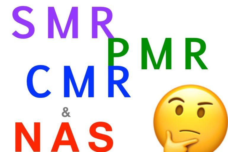 SMR PMR CMR NAS 770x513 - Disque dur SMR, PMR (CRM) et NAS
