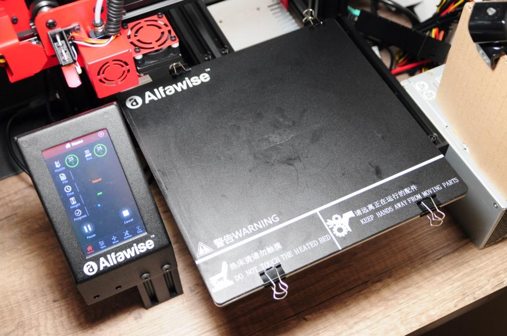 alfawise u30pro 16 - Je me lance dans l'impression 3D avec l'Alfawise U30Pro