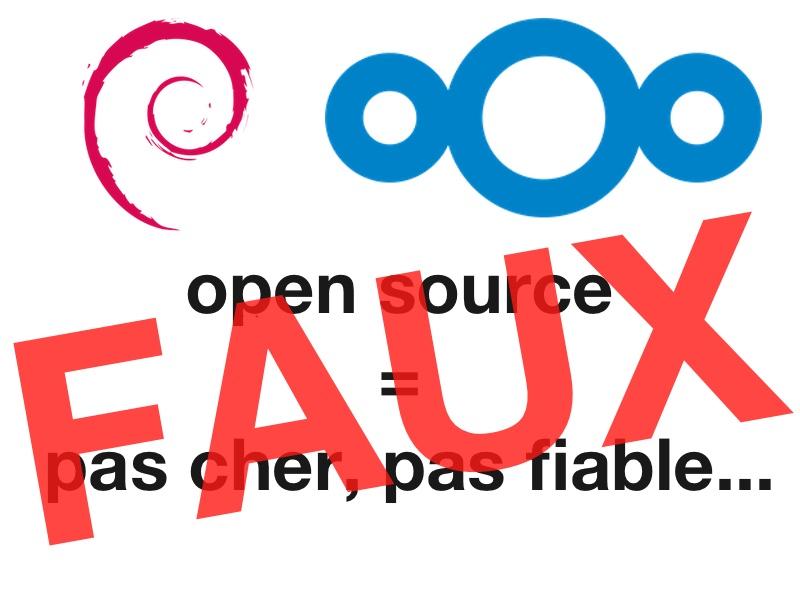 open source - Open source et Cloud : peu cher, pas fiable, pas assez pro...