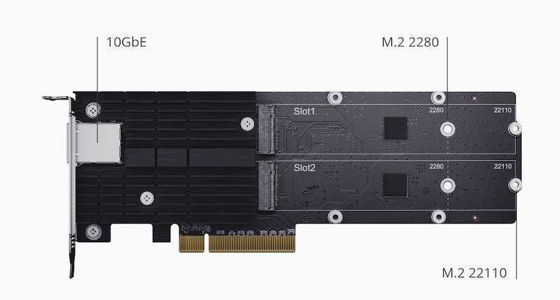 E10M20 T1 - Synology annonce ses premiers SSD : SAT5200, SNV3400 et SNV3500