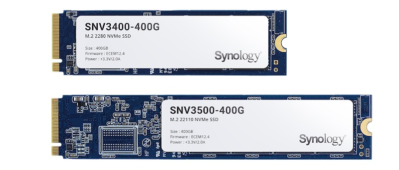 SNV3400 SN3500 - Synology annonce ses premiers SSD : SAT5200, SNV3400 et SNV3500