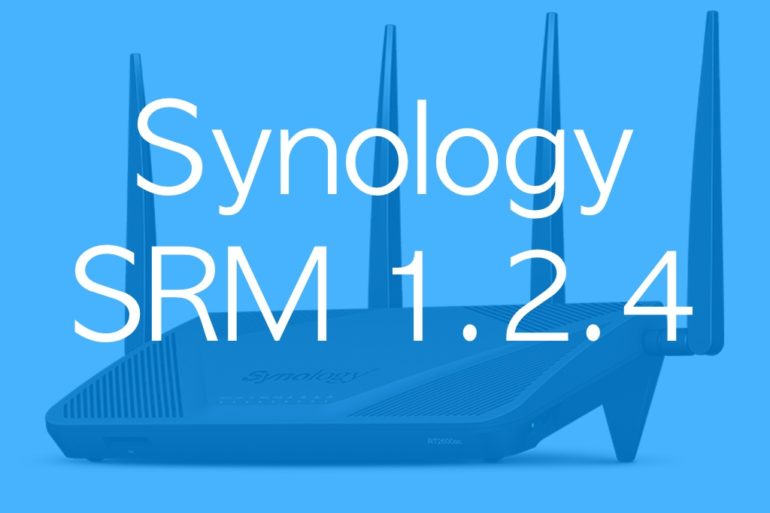 Synology SRM 124 770x513 - Routeurs : Synology SRM 1.2.4