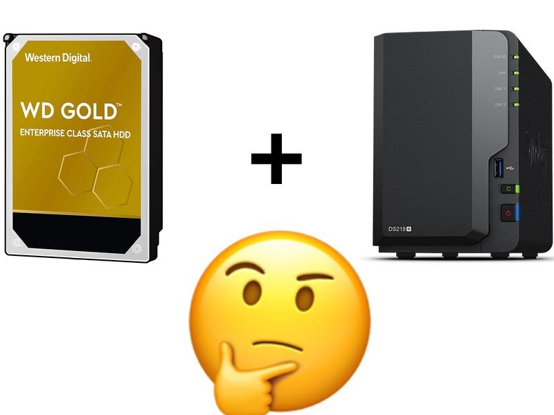 WD Gold NAS - WD Gold dans un NAS ?