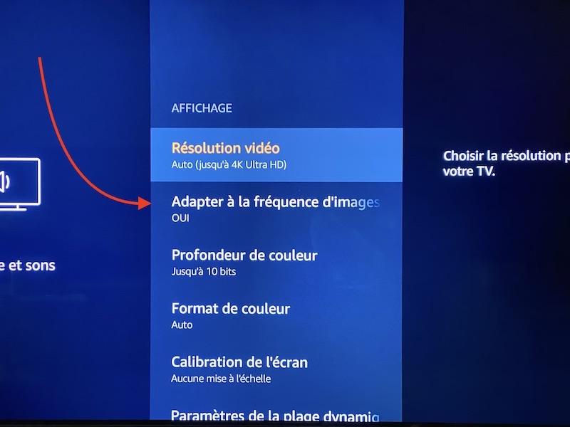 adapter frequence image - Amazon Fire TV Stick 4K : Belles images, fluidité, prix... mais une interface à revoir