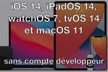 ios14 beta 370x247 - Installer iOS 14 bêta... sans compte développeur et gratuitement