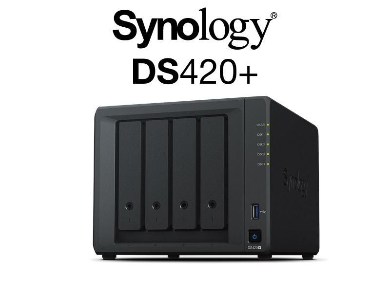 synology DS420 - NAS - Le Synology DS420+ est disponible en France