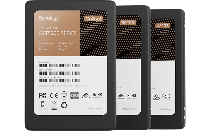 synology sat5200 - Synology annonce ses premiers SSD : SAT5200, SNV3400 et SNV3500