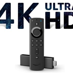 ultraHD Stick amazon 293x293 - Amazon Fire TV Stick 4K : Belles images, fluidité, prix... mais une interface à revoir