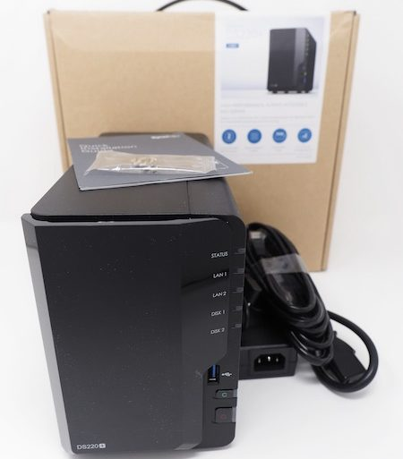 Synology DS220 450x513 - NAS - Test du Synology DS220+