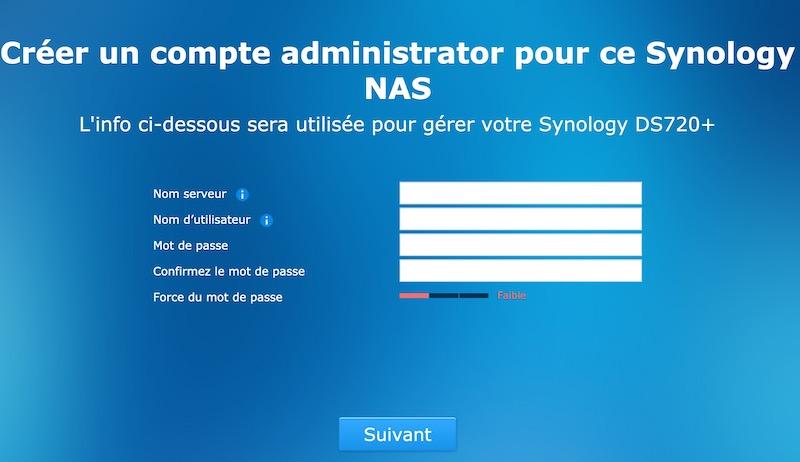configuration synology - Synology - Réinstaller DSM sans perdre les données du NAS