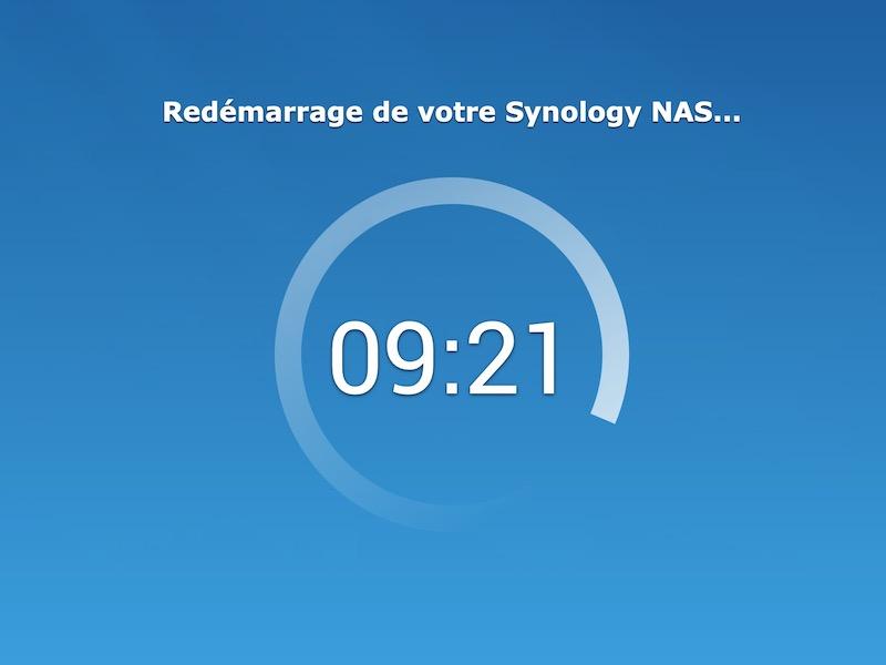 patience - Synology - Réinstaller DSM sans perdre les données du NAS