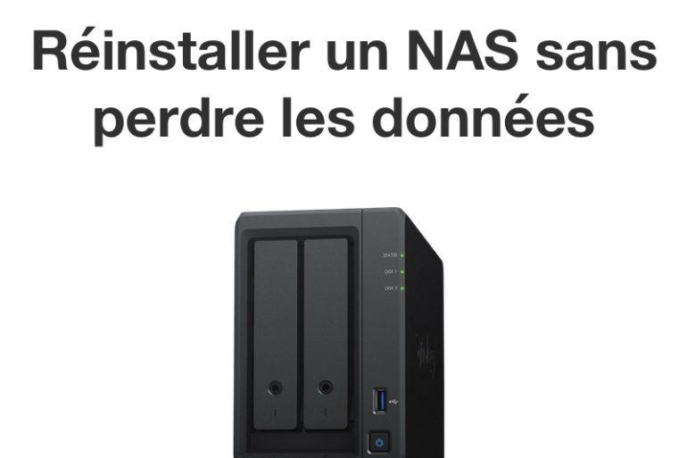 reinstalle nas synology 770x513 - Synology - Réinstaller DSM sans perdre les données du NAS