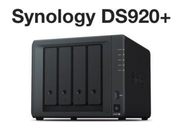 synology ds920 370x247 - NAS - Le Synology DS920+ est disponible à 580€
