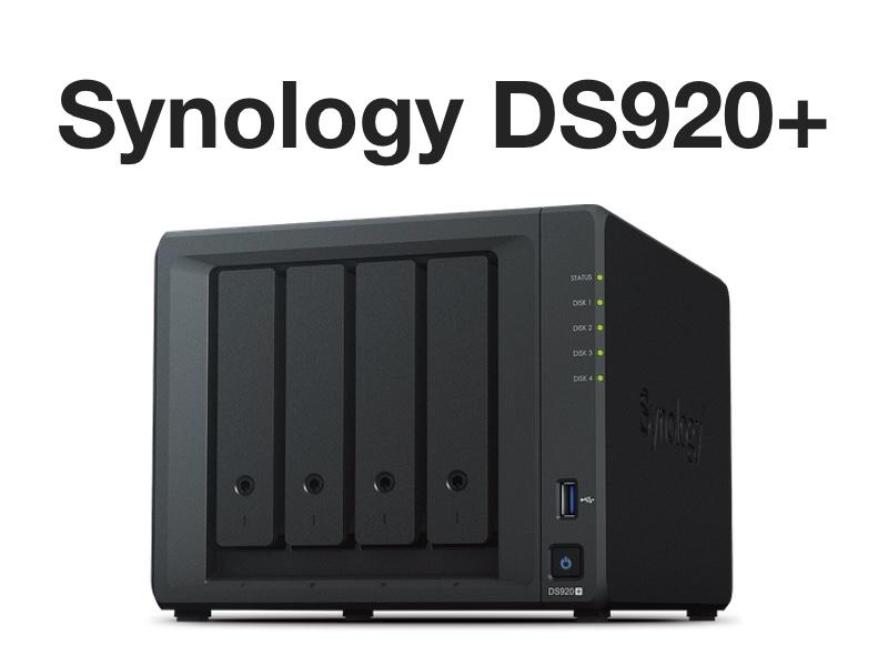 synology ds920 - NAS - Le Synology DS920+ est disponible à 580€