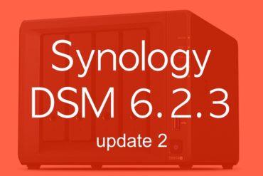 synology dsm623 update2 370x247 - Synology DSM 6.2.3 update 2