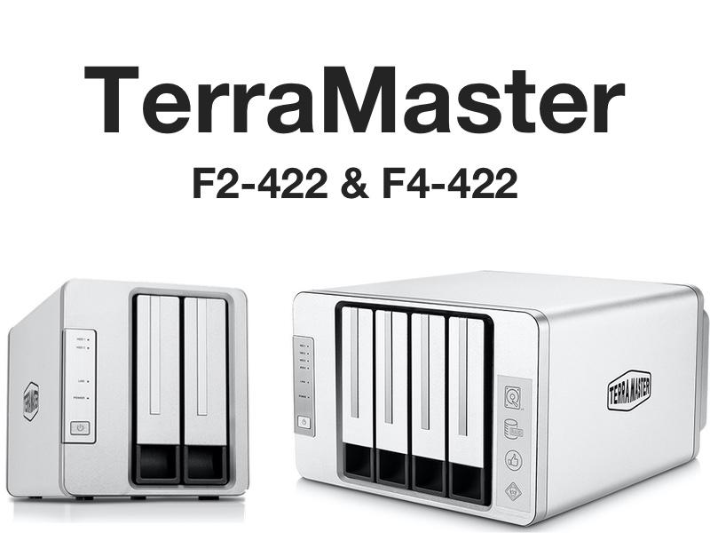 terramaster 10GBE - TerraMaster lance 2 NAS 10 GbE : F2-422 et F4-422