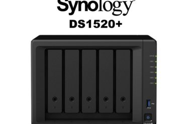 NAS Synology DS1520 370x247 - NAS - Synology annonce le DS1520+