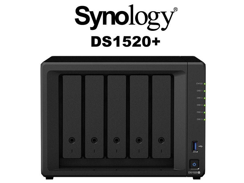 NAS Synology DS1520 - NAS - Synology annonce le DS1520+